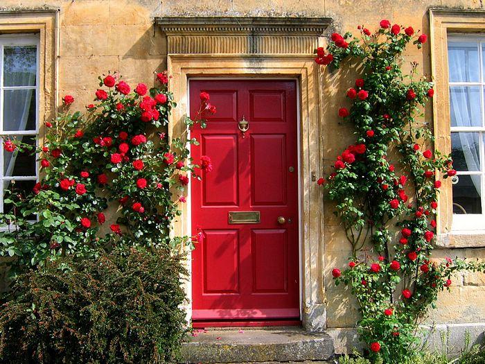 красивый вход в дом 2