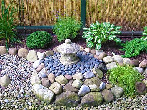 Каменная клумба