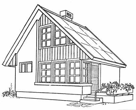 проект небольшого дома с