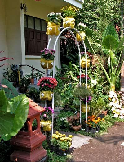 Сделать красивый сад своими руками