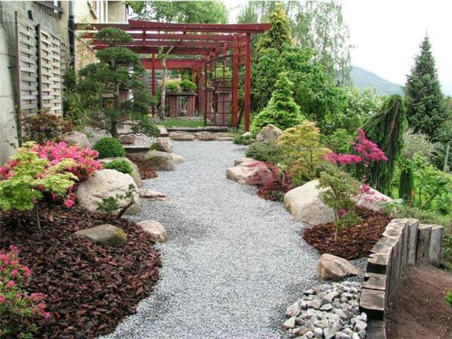 камни в ландшафтном дизайне 1