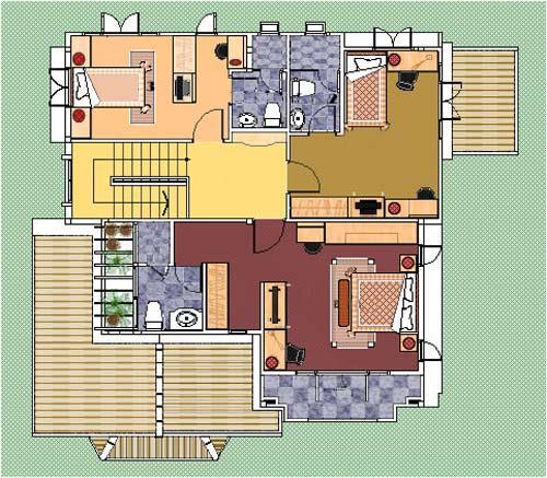 бесплатный проект жилого дома 1