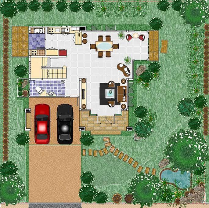бесплатный проект жилого дома 2