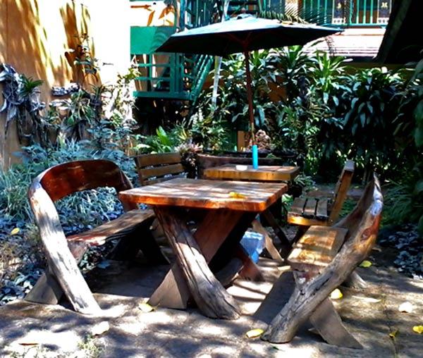 садовая мебель своими руками 1