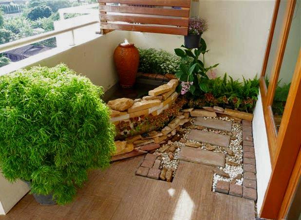 Зеленый дизайн балконов и лоджий фото