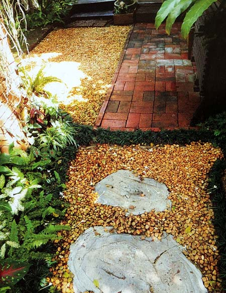 дизайн садовых дорожек 5