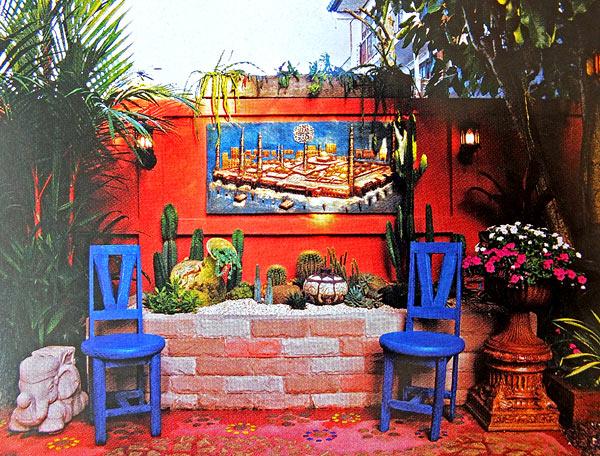 дизайн двора частного дома фото 2