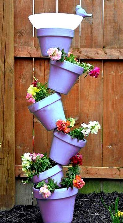 Подставки для горшков с цветами своими руками