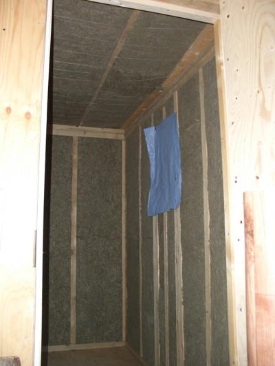 Утепление дачного домика изнутри минватой
