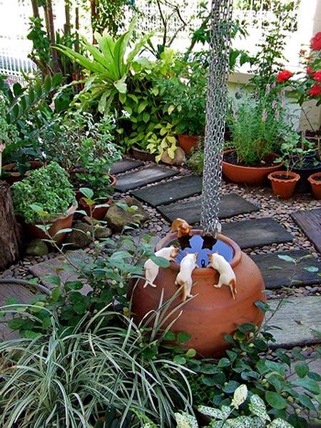 малые формы в дизайне сада