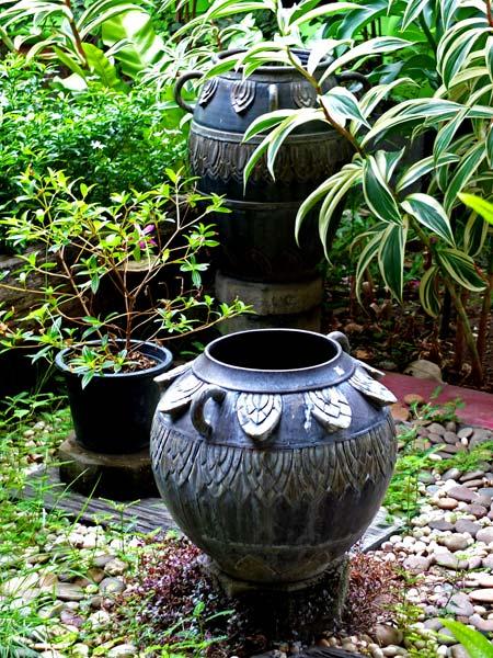 декоративные вазы для экстерьера