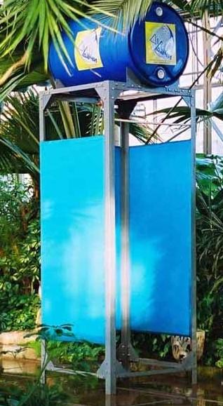 Летний душ из поликарбоната