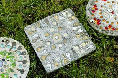 плиты для садовой дорожки
