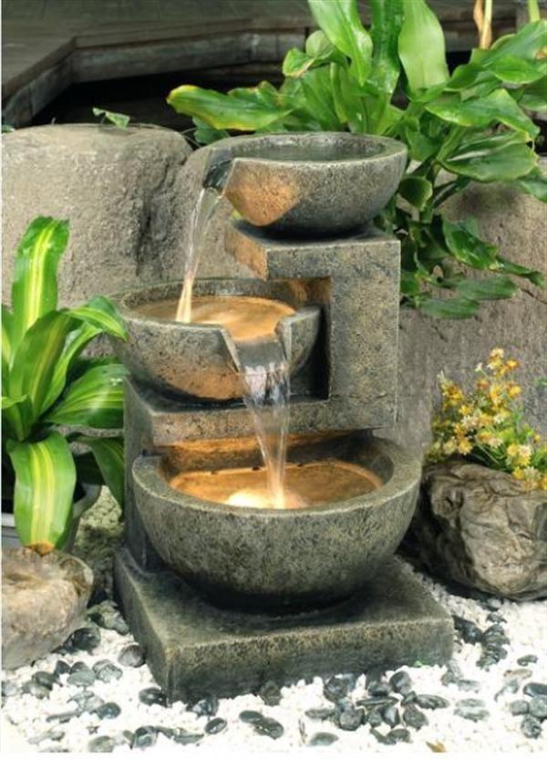 Домашние водопады и фонтаны своими руками