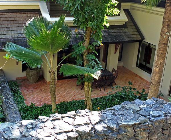 внутренний дворик фото