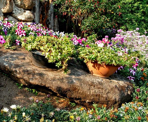 сад в деревенском стиле 3