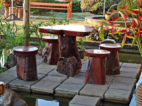 дачная деревянная мебель