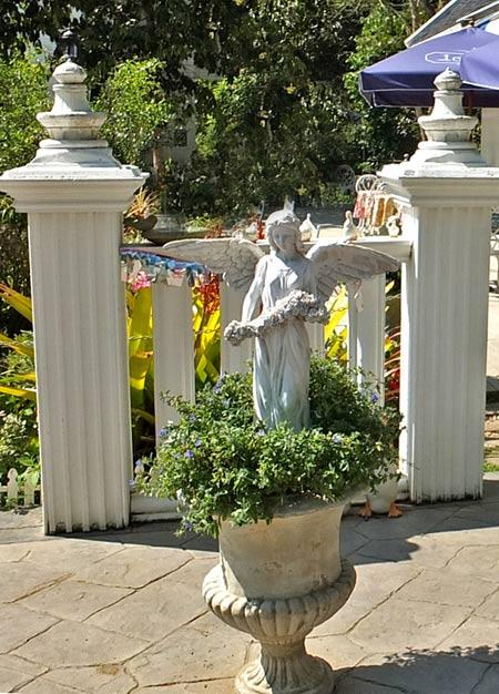 сад в итальянском стиле