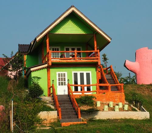 красивый частный дом фото