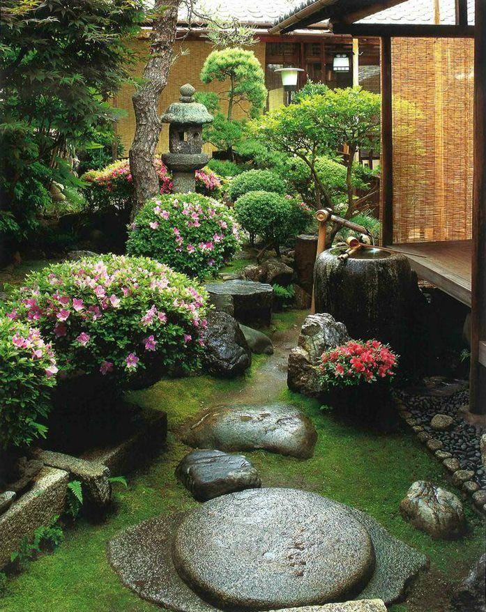 Японский уголок сада