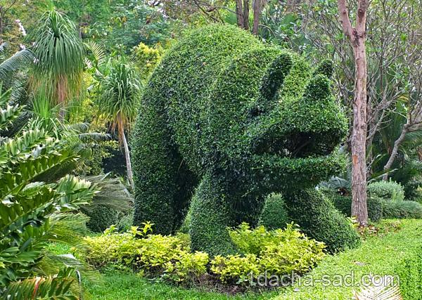 Зеленые фигуры в парке Горизонт — шедевры топиарного искусства ...
