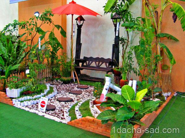 дизайн маленького двора (4)