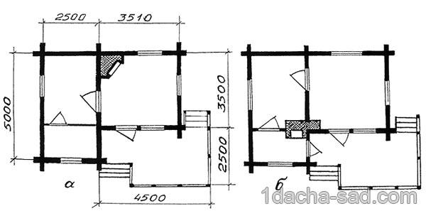 проект дачного дома из бруса (9)
