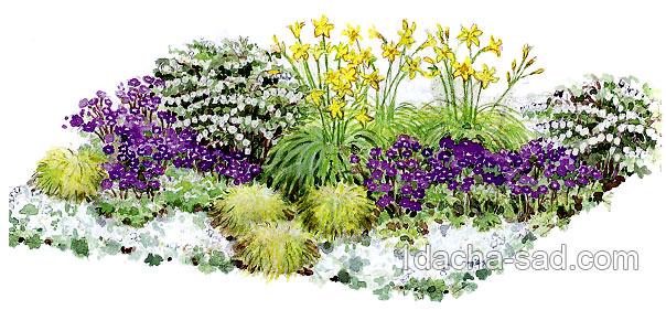 Весенний цветник своими руками