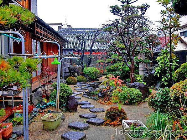 японский сад на даче фото (7)