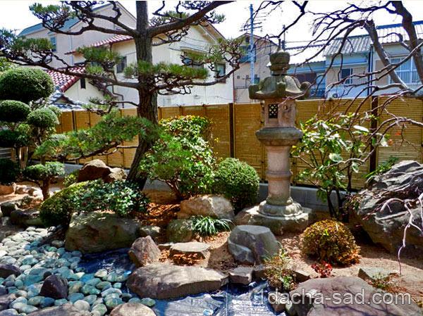 японский сад на даче фото (8)