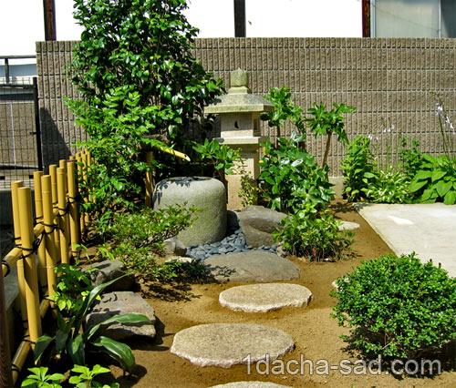 японский сад на даче фото (1)