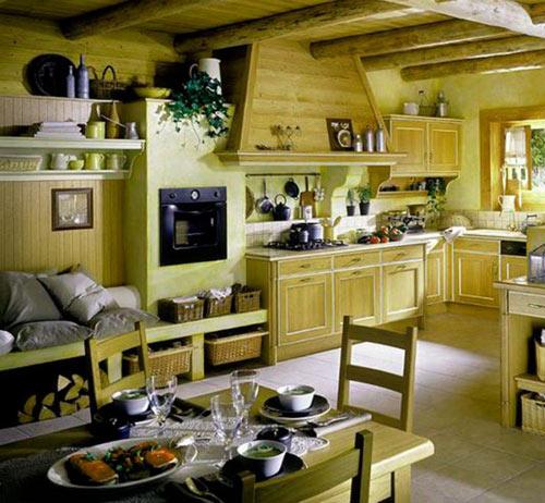 интерьер кухни в стиле прованс фото (10)