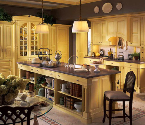 интерьер кухни в стиле прованс фото (7)