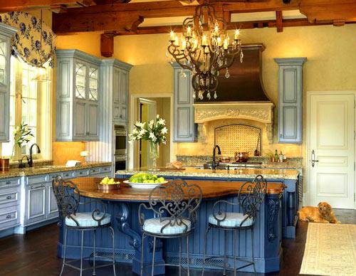 интерьер кухни в стиле прованс фото (6)
