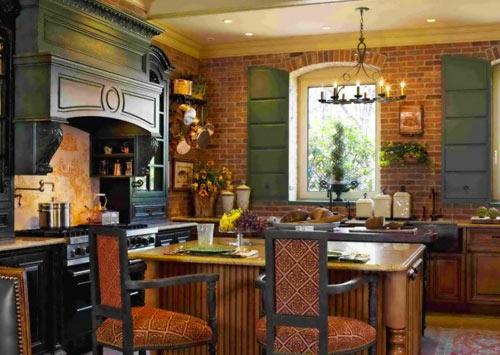 интерьер кухни в стиле прованс фото (5)