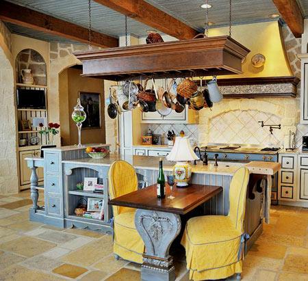 интерьер кухни в стиле прованс фото (3)