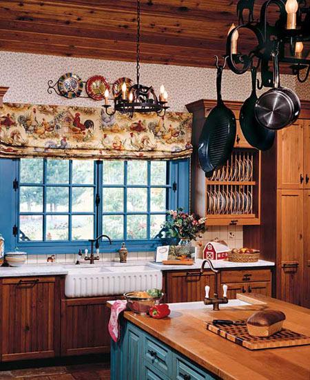 интерьер кухни в стиле прованс фото (1)
