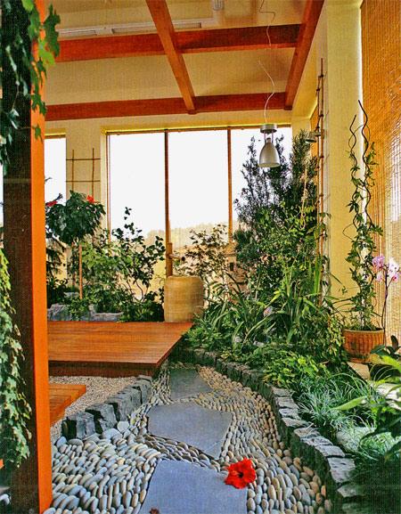 зимний сад в доме (3)