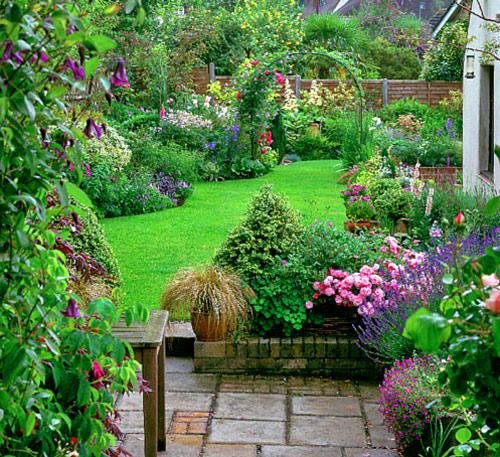 сад в стиле прованс