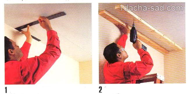 деревянные полки своими руками (8)