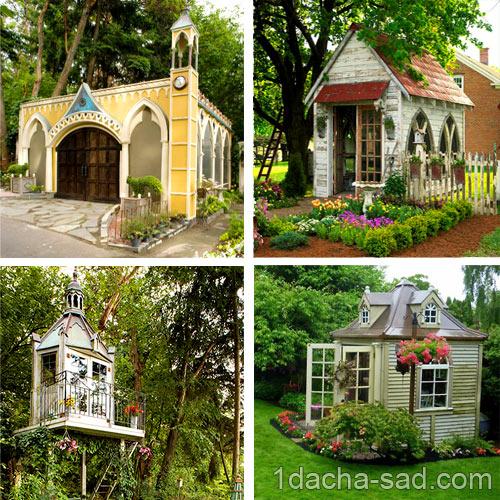 маленький дачный домик фото (5)