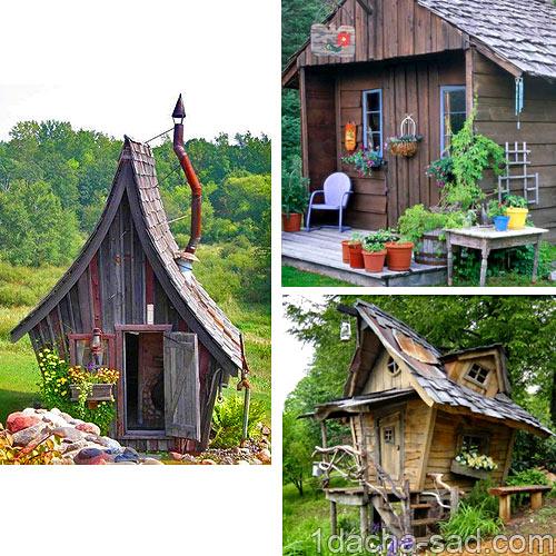 маленький дачный домик фото (4)