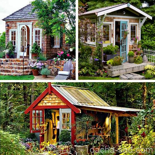маленький дачный домик фото (3)