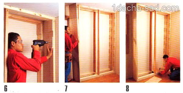 деревянные полки своими руками (6)