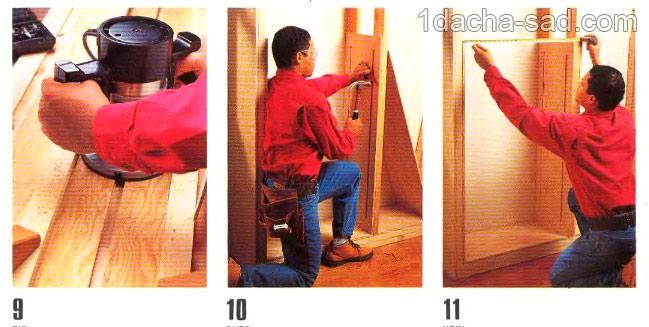 деревянные полки своими руками (5)