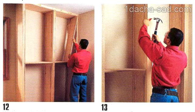 деревянные полки своими руками (4)