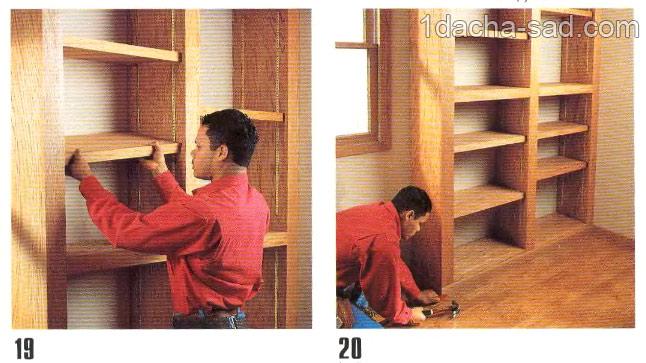 деревянные полки своими руками (1)