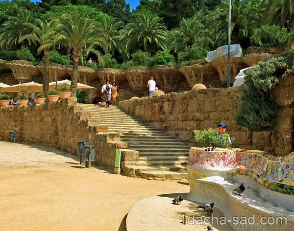парк гуэль барселона фото (4)