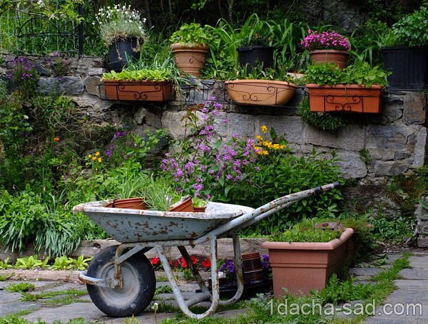 Как обустроить свой садовый участок своими руками 161