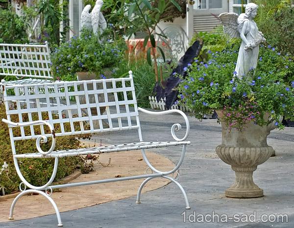 романтический сад декор